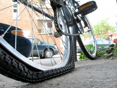 flat tire repair 17 gets most bikes back on the road in a jiffy includes a new inner tube and labor sometimes a flat may cost more especially if an